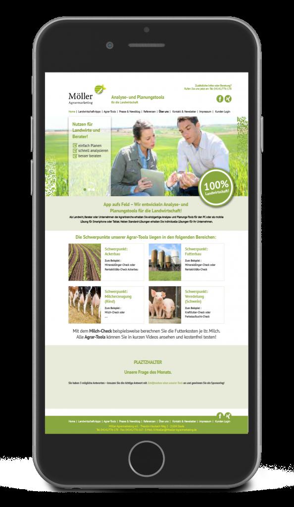 App Entwicklung Möller Agrarmarketing