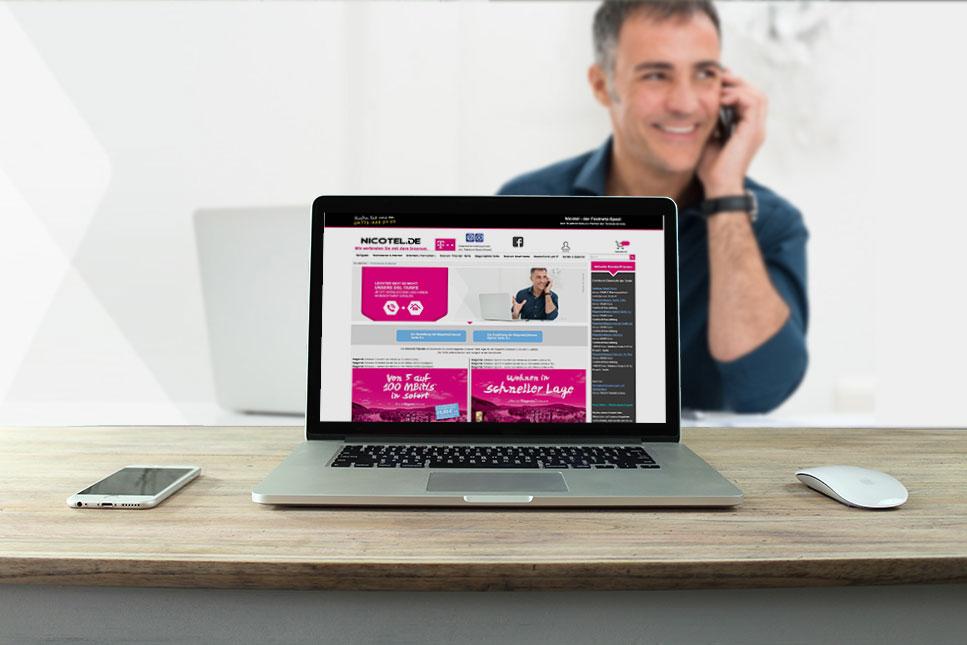 Nicotel Online Shop