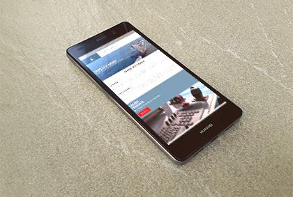 Referenzansicht Querin Smartphone