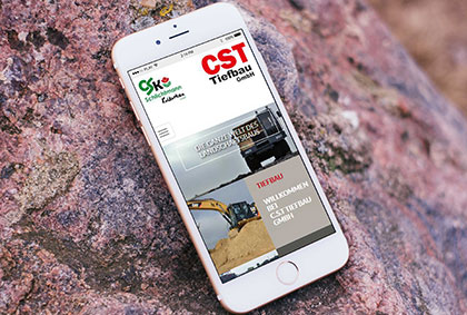 Referenzansicht CSK Schlichtmann Smartphone